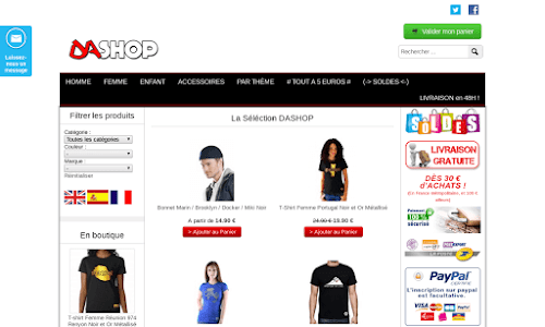 Dashop Vêtement