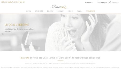 Diamoro - vente en ligne de bijoux et diamants certifiés Bijouterie joaillerie