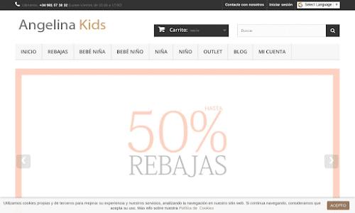 Angelina KIDS tienda online de moda infantil