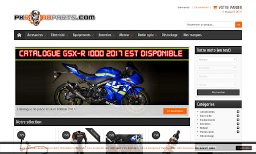 Pkroadparts 2 roues