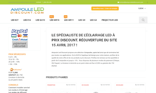 Ampoule Led Discount