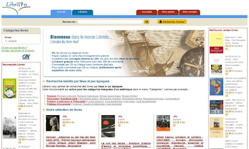 Libristo : librairie en ligne Livre