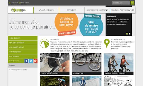 Vélos électriques : Ecox
