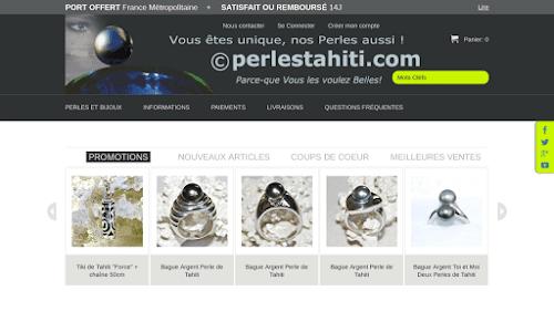 La Boutique en Ligne des Belles perles de Tahiti