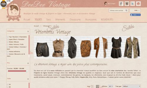 DeeDee Vintage Accessoires de mode