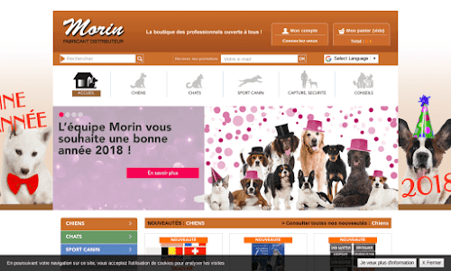 Accessoire pour chiens, chats et sport canin