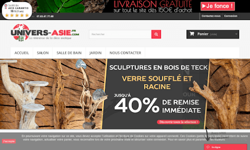 Univers Asie Mobilier