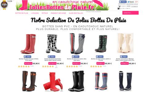 Jolies Bottes de Pluie Chaussures