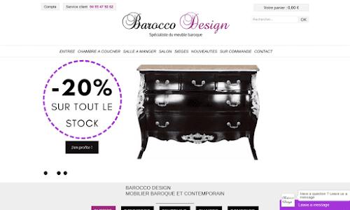 Barocco Design Mobilier