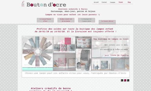 Bouton d'Ocre