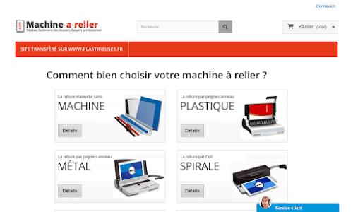 Machine-a-relier