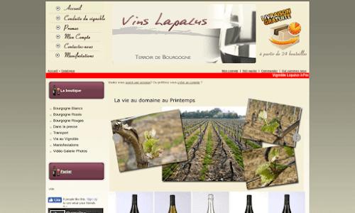 Vins Lapalus Maurice et fils à Pierreclos Alcool, vin et spiritueux