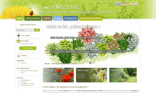 Le Mur Végétal Jardinage