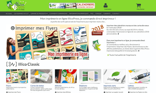 Illico Press: impression en ligne en quelques clics ! Autres services