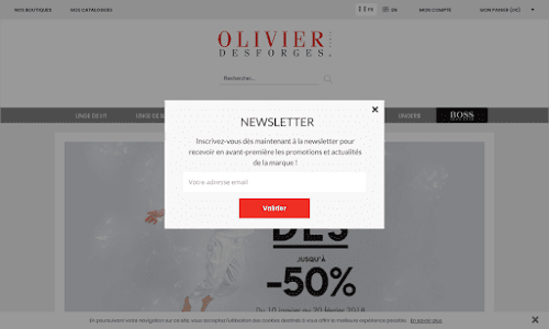 Olivier Desforges Linge de maison