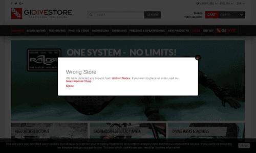 Gidive Store Tienda Online de Buceo Accesorios