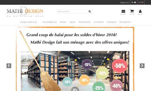 Mathi Design : mobiliers et objets design