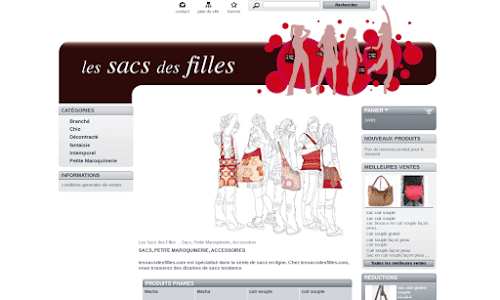 Les sacs des filles Maroquinerie