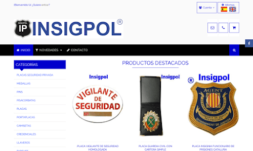 Insigpol: Material policial Material