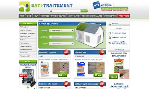 Produits de traitement pour la maison et le bâtiment