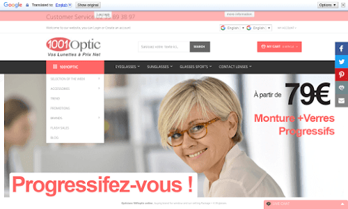 1001 opticiens