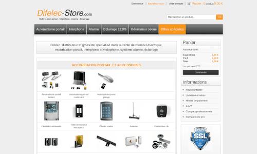 Difelec-Store Electricité & domotique