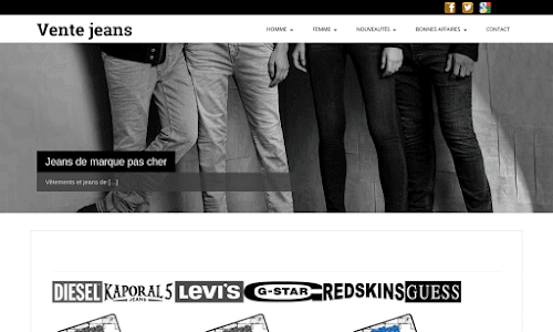 Vente jeans