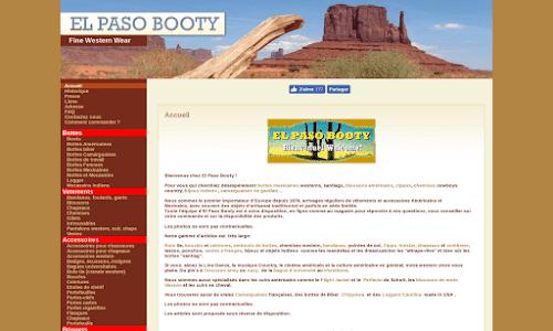 El Paso Booty Santiag