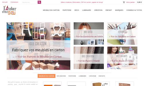 L'Atelier Chez Soi : créer son mobilier en carton à domicile