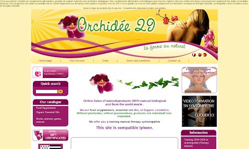 Orchidee29 Produit biologique