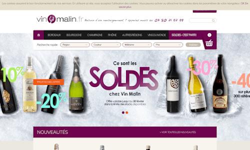 Vin Malin, vins et champagne Alcool, vin et spiritueux
