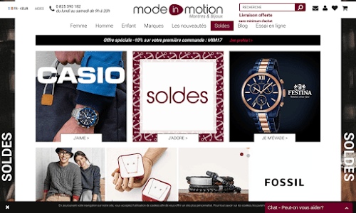 Mode-In-Motion Montre
