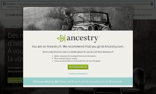 Ancestry Loisir