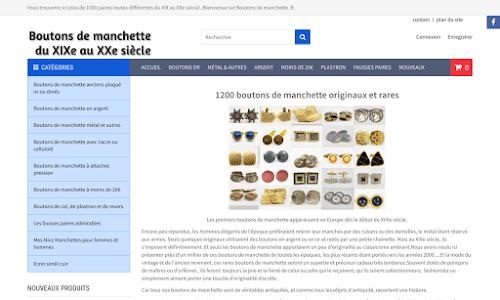 Boutons de manchettes vintage Bijoux