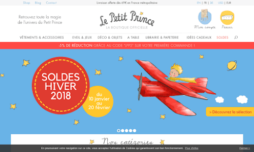 La Boutique du Petit Prince Collection et miniature