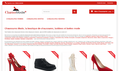 Boutique Chaussures Mode Chaussures