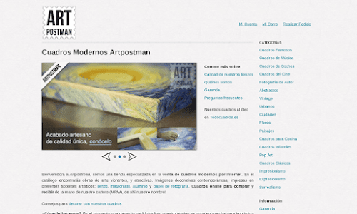 Artpostman Decoración