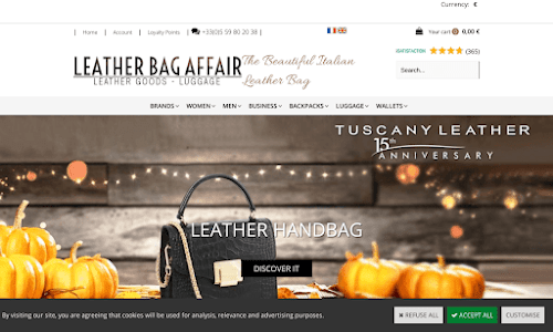 Leather Bag Affair Leather goods