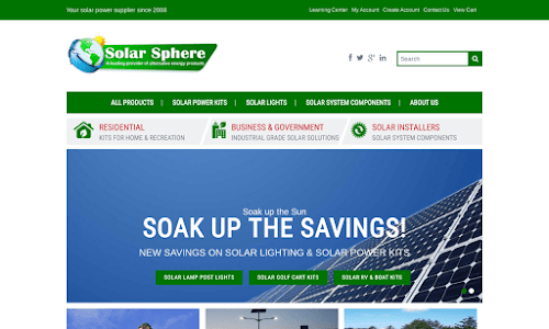 Sphere Solar Lighting