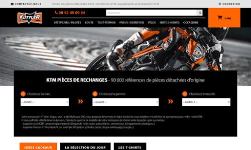 Kuttler : magasin moto KTM 2 roues