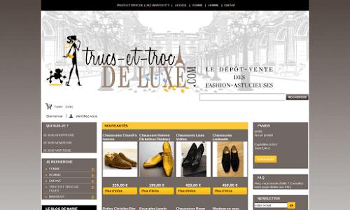 Trucs-et-troc-de-luxe Mode Femme
