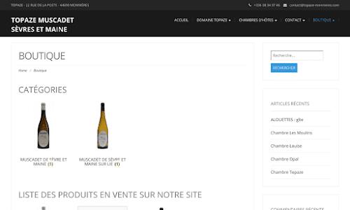 Topaze Monnieres Alcool, vin et spiritueux