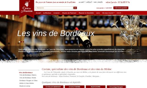 Cave-Atlantide Alcool, vin et spiritueux
