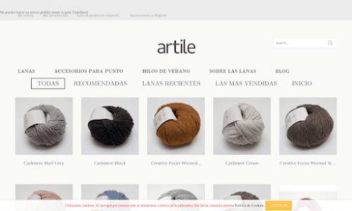 Artile, tu tienda de punto on line
