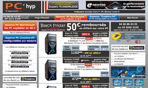 PCHYPERMARCHE, l'achat de PC à prix discount
