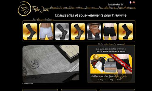 Chaussettes Pier Juan : Bien-être et luxe pour homme