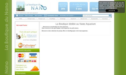La Boutique du Nano Aquarium Aquariophilie