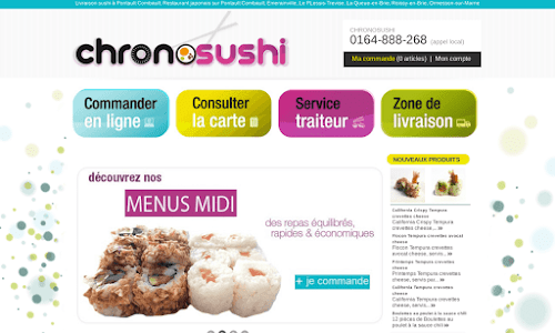 Restaurant Chrono Sushi Alimentation