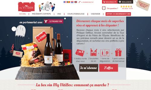 My VitiBox Alcool, vin et spiritueux