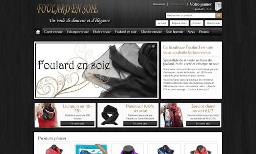 Foulard en soie Accessoires de mode